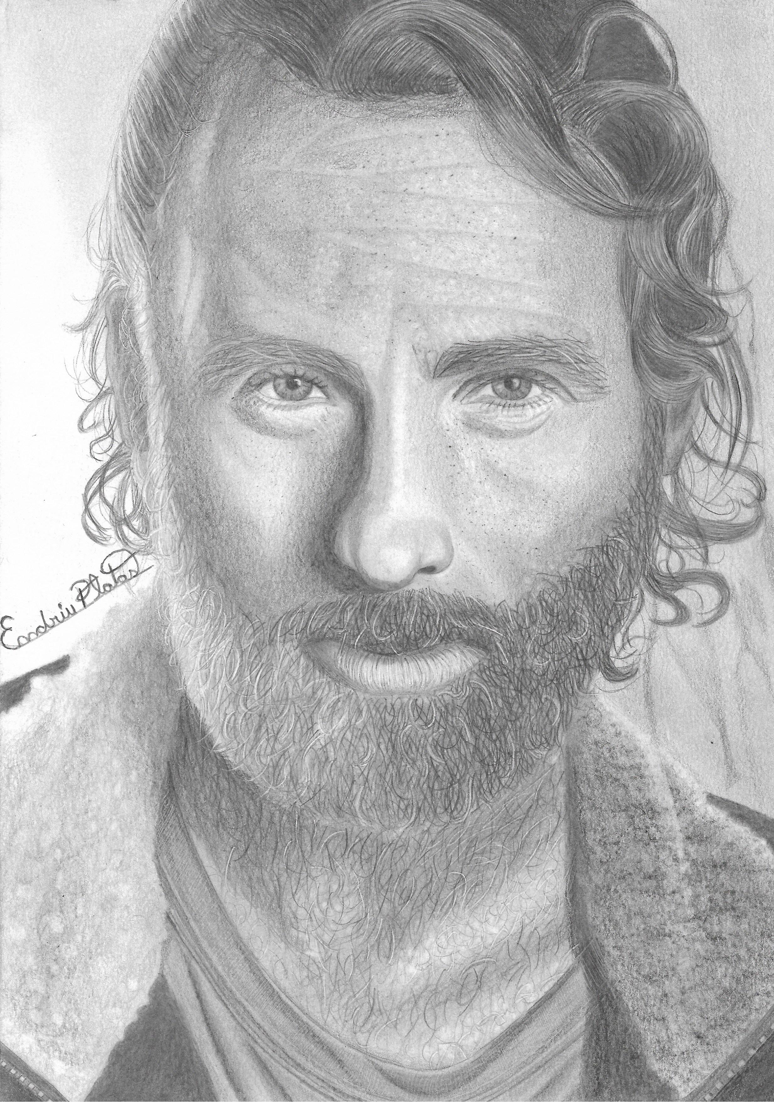Rick Grimes do The Walking Dead