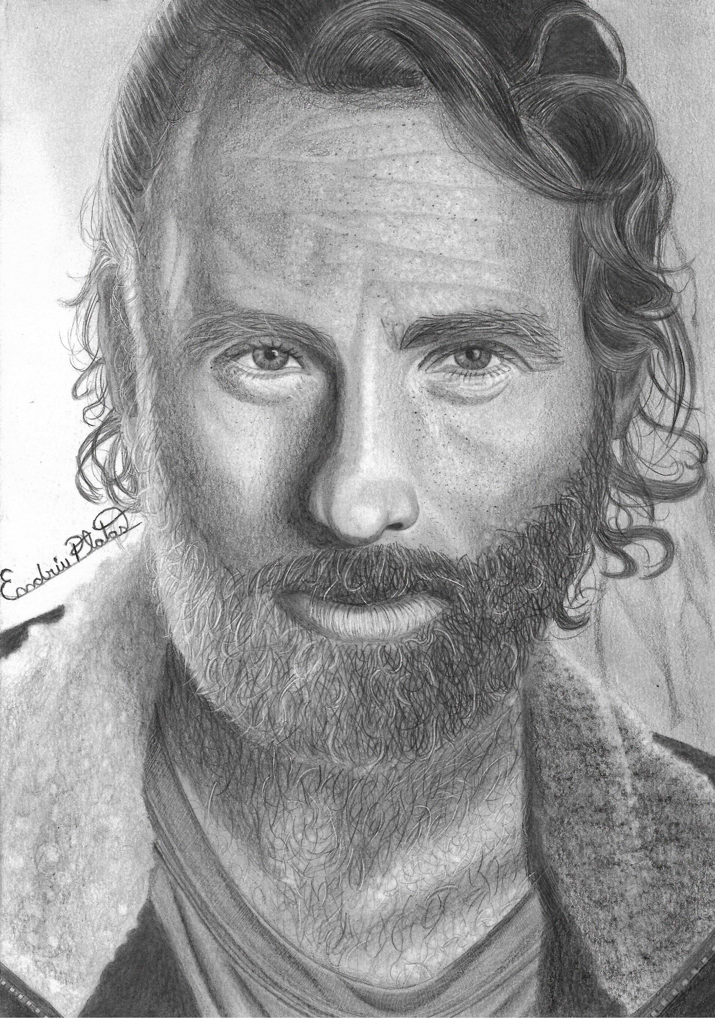 Rick Da Serie The Walking Dead