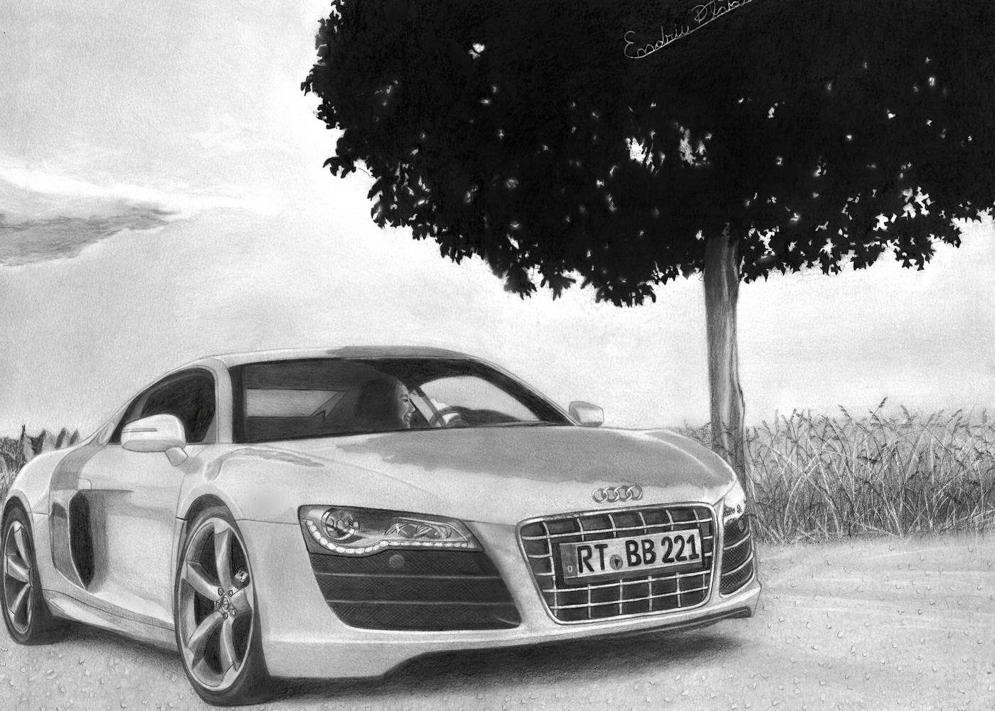 Desenho Audi R8